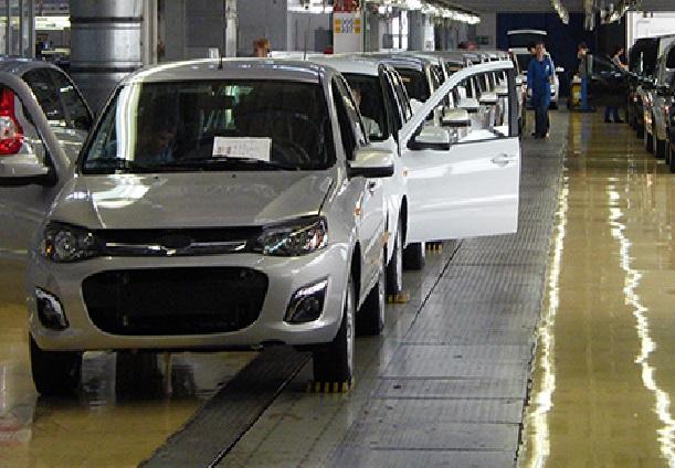 Сокращение работников автозаводов